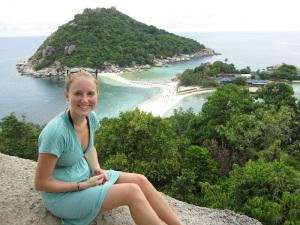 Samantha in Koh Tao