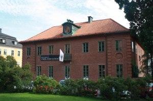 Värmlands Nation's Big House in Uppsala