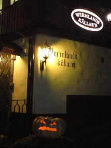 Wermlandskäller'n - The pub at Värmlands Nation that hosted Halloween themed pub night which we attended