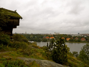 A view of Stockholm from Skansen, a park/zoo that I recently visited in Sweden