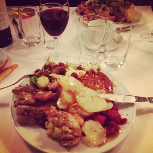 Thanksgiving Dinner in Uppsala, Sweden