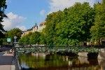 A scene of summer in Uppsala