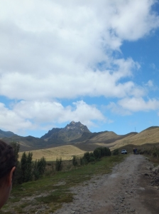 Pichincha Volcano which we hiked near