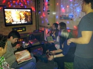 Karaoke with some of my exchange student friends in Seoul