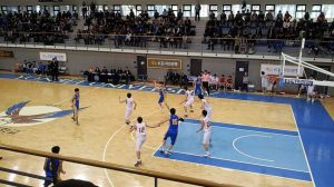 Yonsei basketball game which I attended with a friend
