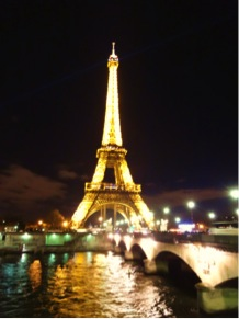 And of course Paris' most famous site, the Eiffel Tower!