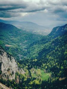 View from Creux du Van