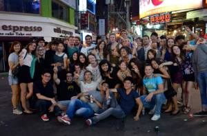 Many of the friends I made in Seoul
