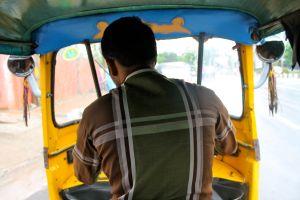 Inside Auto Rickshaw
