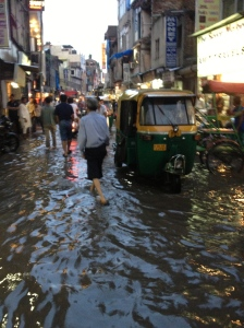 Flooding in Delhi