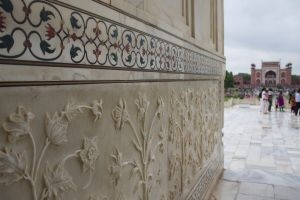 Taj Inlay and Ornamentation