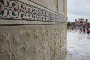 Taj Inlay and Ornamentation
