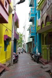 Colorful Pondicherry