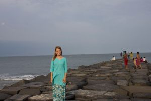 Rocks in Pondicherry