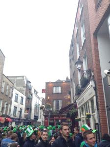 St Patick's Day Temple Bar