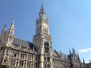 Marienplatz, central Munich.