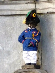 ​Mannekin Pis, the famous peeing baby statue. Stolen by a king. Returned by a king.