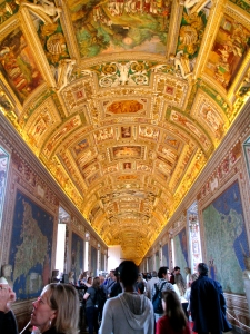 Galleria delle Carte Geografiche in the Vatican