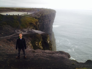 Despite the gross weather, The Cliffs of Moher in Ireland were absolutely breathtaking.