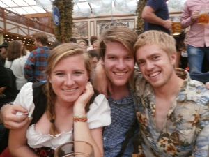 Oktoberfest was, uh, lots of fun!