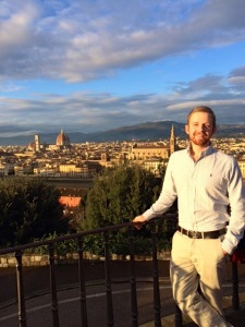 Oliver in florence