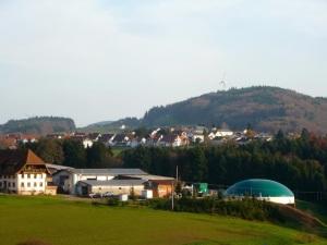 Biogas farm