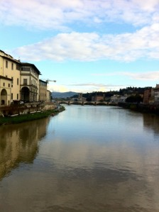 View off the Ponte Vecchio