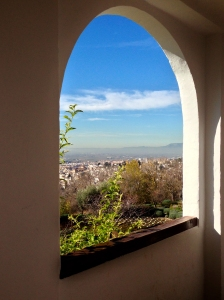 A view from the Alhambra in Granada