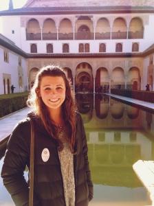 Me, at the Alhambra in Granada