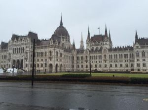 Pictures of the Parliament building. Much of the building had to be restored after being attacked during WWII.