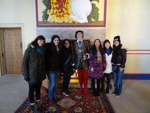 Met him at Stirling Castle