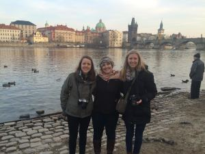 My UR friends and I exploring Prague