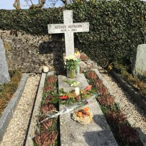 After 20 years, people still come to Audrey's grave to give flowers and love