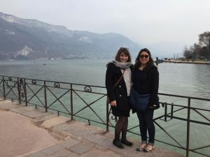 Loving Annecy, but looking forward to making it home!