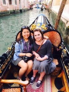 The gondola ride was actually my favorite part! It was so cool to see the city from the water.