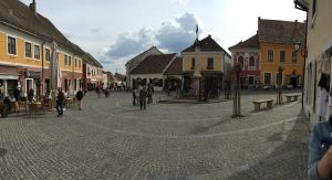 The town of Szentendre