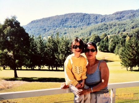 #TBT My mom and I in the Australian countryside. I'm excited to revisit some of my childhood memories!