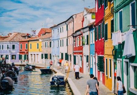 Colorful Island of Burano