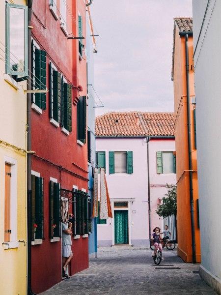 Neighborhood in Burano