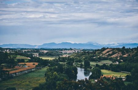 On the second day of our retreat, we visited the Parco Giardino Sigurtà, probably the most picturesque botanical garden in Italy. Located above the surrounding historic towns, the park offers a fresh bird's-eye view of the beautiful northern Italian countryside.