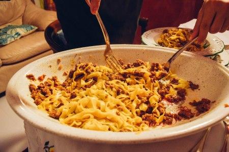 Pasta, Bologna-style