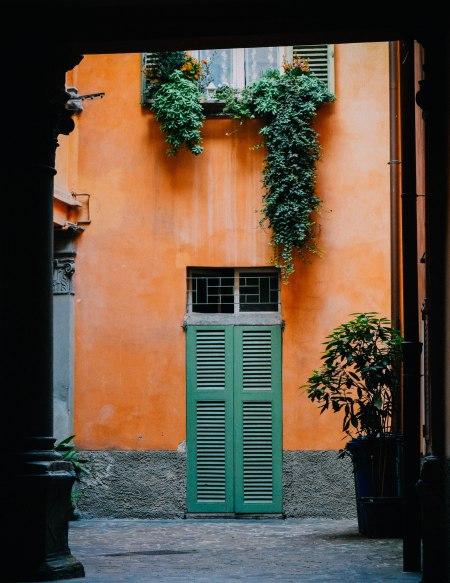 Under the roof-Bergamo