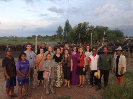 The Development and Globalization group met with water buffalo herders during our land and agriculture unit.
