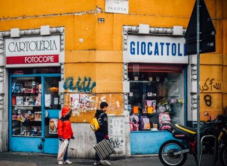 Street of via padova