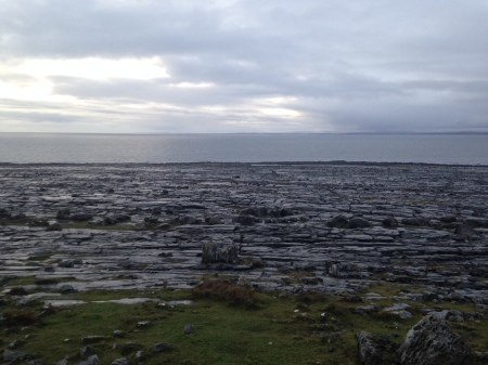 Another pic of those gorgeous Burren shores.