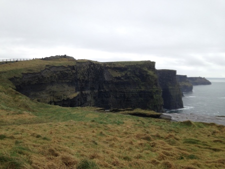 The Cliffs of Moher, a.k.a. The Cliffs of Insanity (according to The Princess Bride) or The Really, Really Scary Cliffs Dumbledore and Harry Land On (according to Harry Potter and the Half-Blood Prince