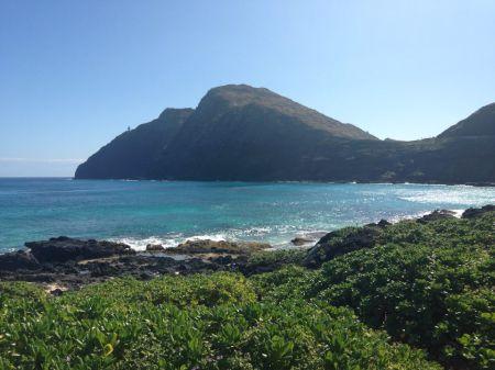 The view from makapu'u