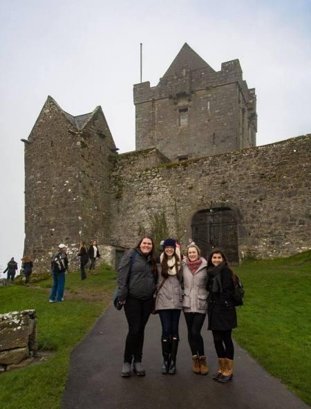 Muggin' it castle style