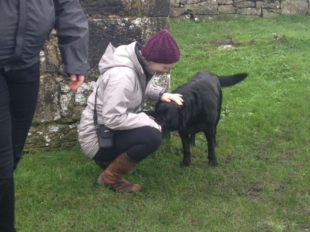 Oh also did I mention a large black dog with no owner showed up in the graveyard?! I'm calling it, that dog was a Grimm.