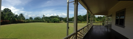 View from Stevenson's veranda
